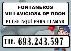 Fontaneros Villaviciosa de Odon Urgentes