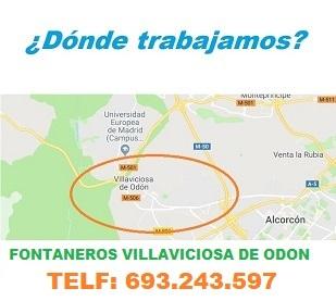 ¿ en que zonas de Villaviciosa de Odon trabajamos ?