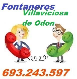 Telefono de la empresa fontaneros Villaviciosa de Odon